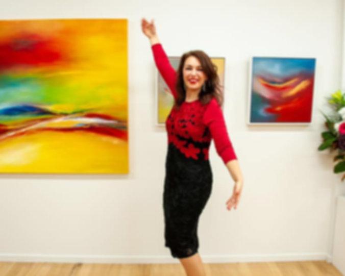 Mira Corbova at Manifestation Exhibition