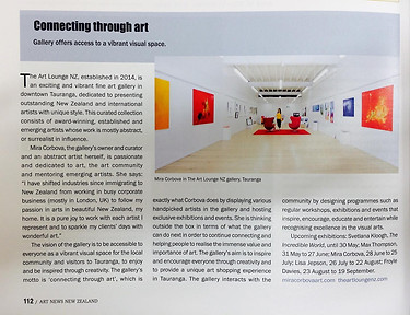 Art News New Zealand Magazine