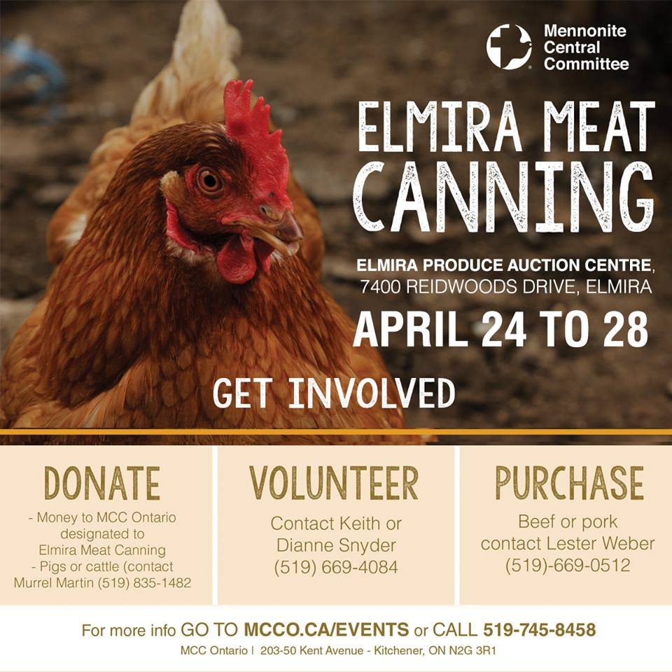 MCC - Meat Canning for Relief Aid