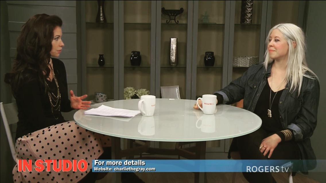 Interview on Rogers TV, In Studio