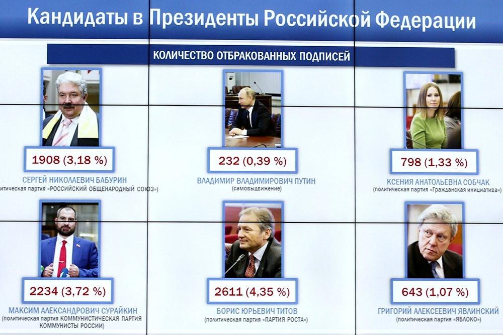 Количество отбракованный подписей. Фото:rg.ru