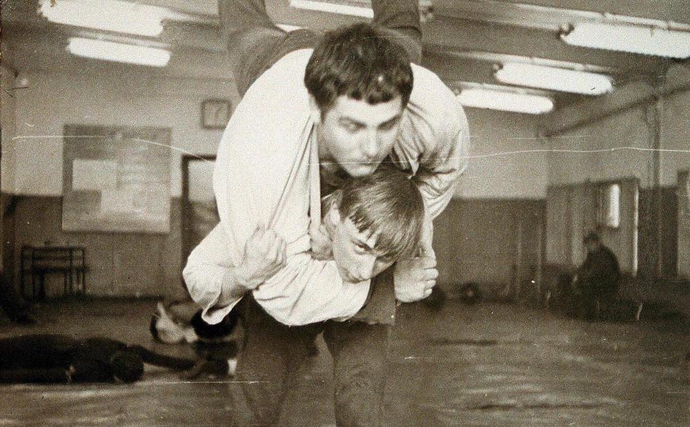 Владимир Путин и Василий Шестаков во время тренировки. 1971 год (Фото: EPA)