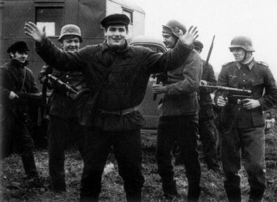 Аркадий Ротенберг (слева), Василий Шестаков (по центру) (Фото: Петр Тарханов)