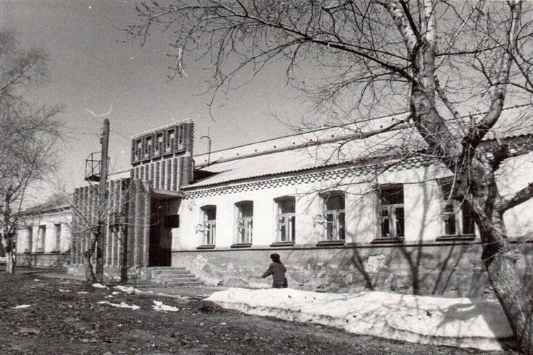 Здание городского архива  с 1981 года. Фото из фонда архива
