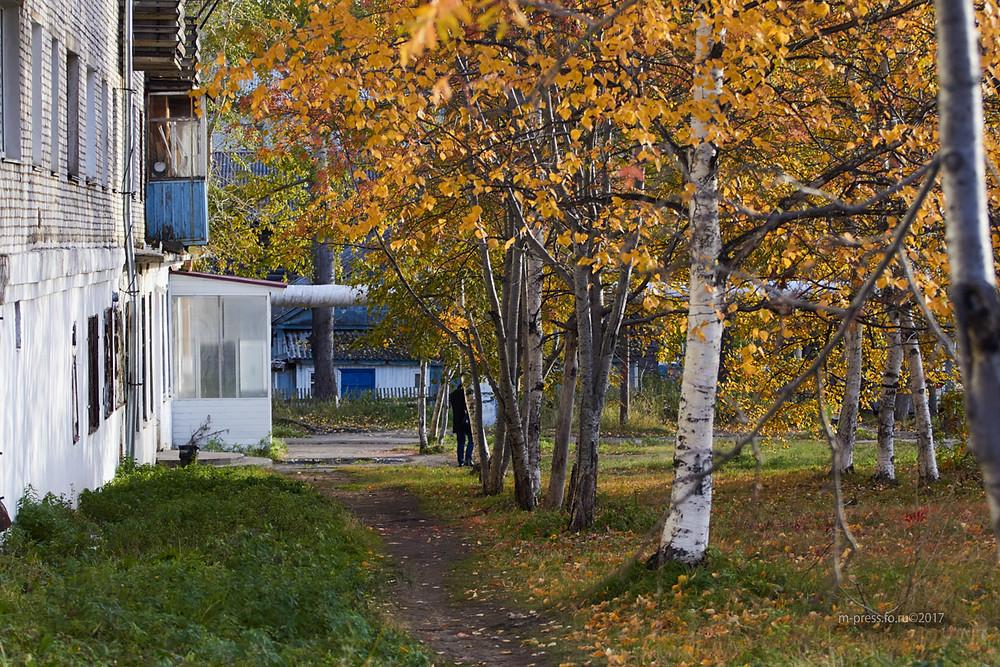 Осенний город. Автор: Алеся Кайдалова