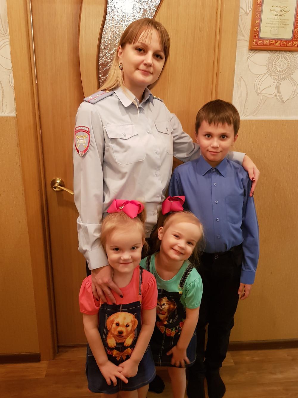 Екатерина  Бекбулатова:  «Мы вместе!» Фото из личного архива