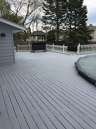 Deck Painting, Mt.Pleasant