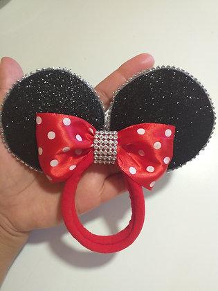 Faixinha de bebê orelha da Minnie