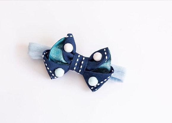 Faixinha de Bebê, Laço Azul
