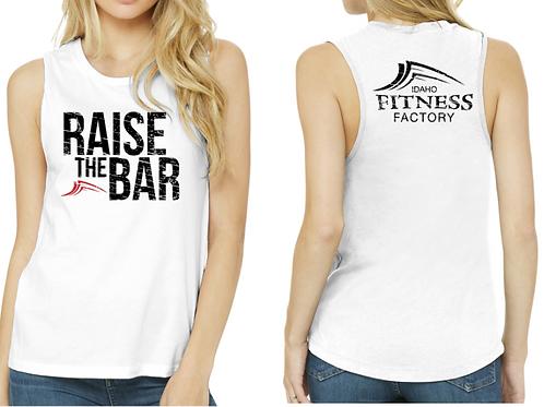 Woman's TankTop w/ Raise the Bar