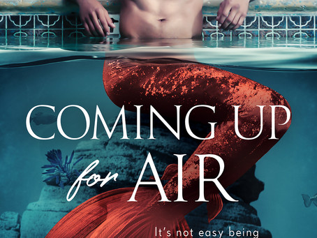 Coming Up for Air - Cover Reveal & Pre-order