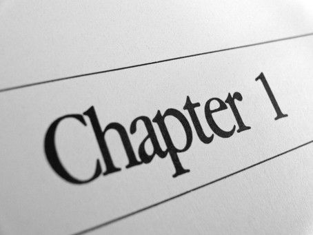 How to get from concept to chapter 1