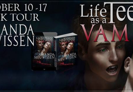 Blog tours and initial reviews for Life as a Teenage Vampire