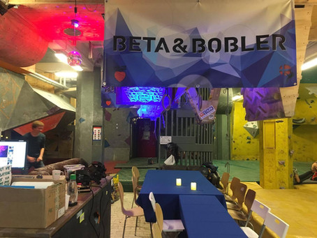 Beta & Bobler - hyggelig klatring på en ny måde
