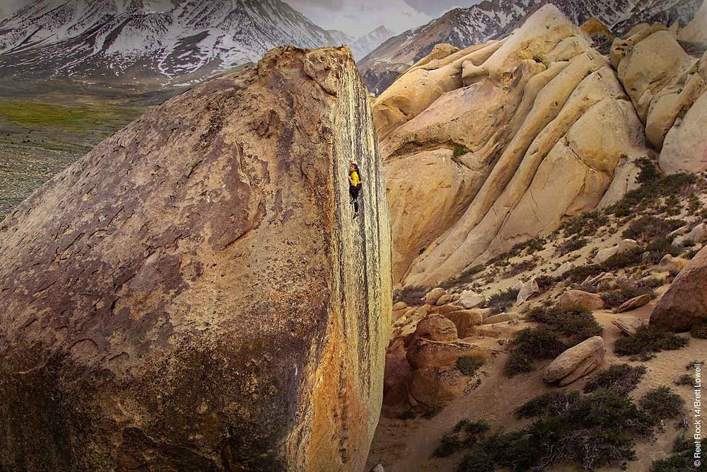 Nina Williams - 15m. High Ball Boulder