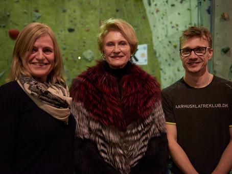 Salling fondene donerer millioner til Århus Klatreklub