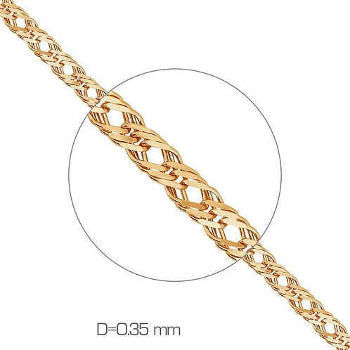 585/14 Ct Rose Gold Chain