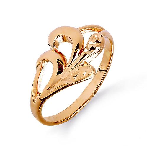 14 Ct Rose Gold Ring