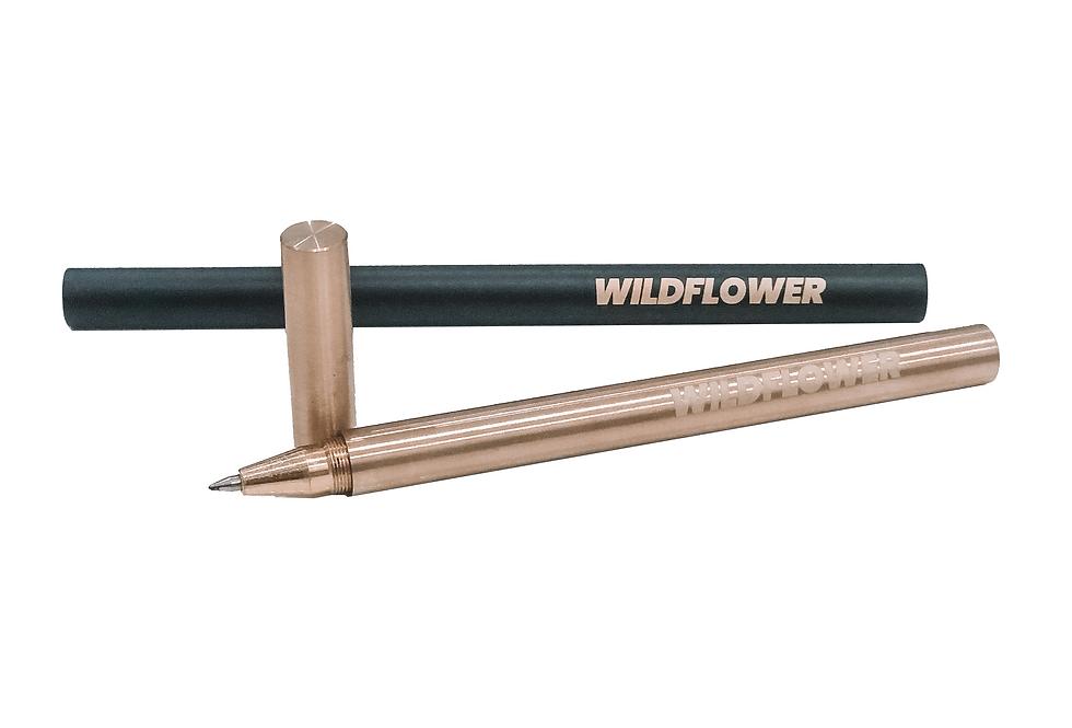 The Wildflower Brass Pen