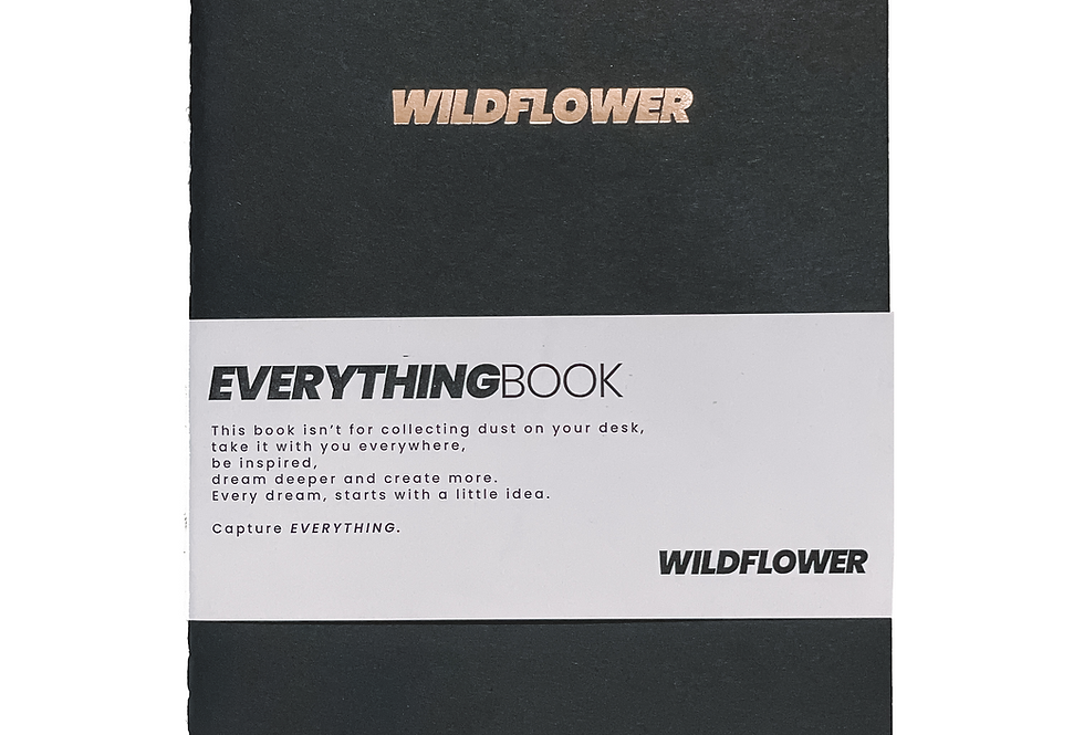 The EVERYTHING Paper Book - BLACK