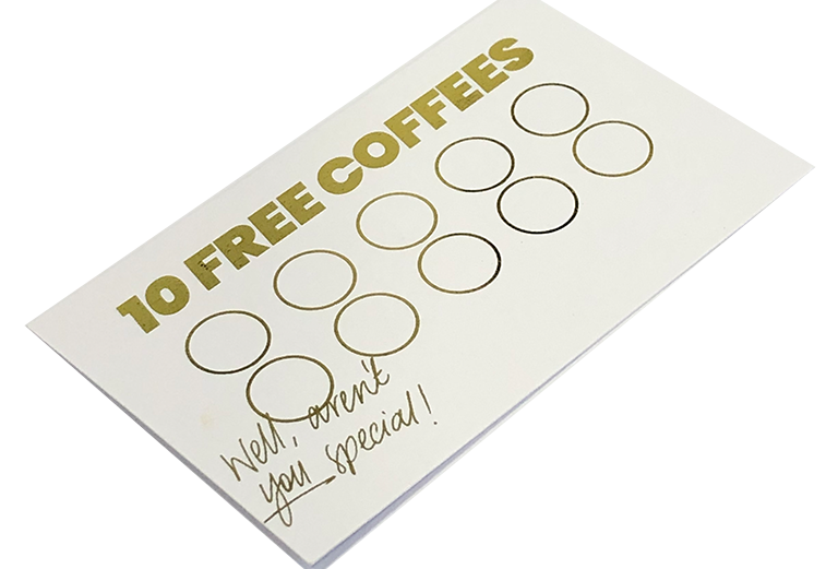 Gift Card - 10 Coffees