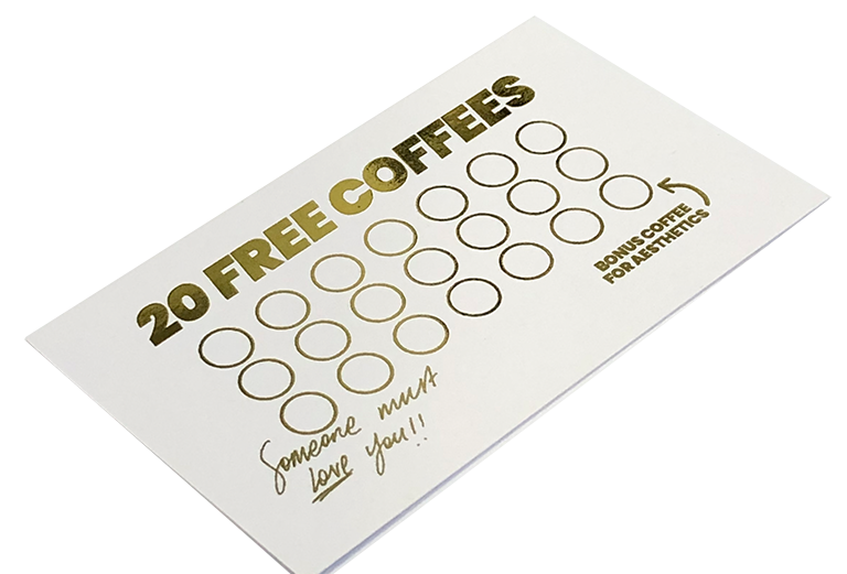Gift Card - 20 Coffees