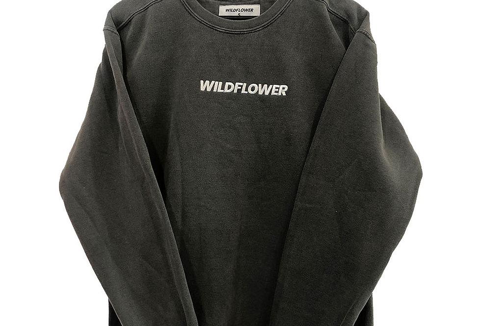 Wildflower Basics Crew | White