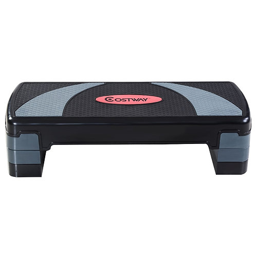 "31"" Adjustable Fitness Aerobic Step with Riser"