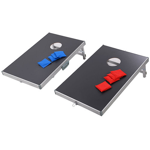 Foldable Bean Bag Toss Cornhole Game Set