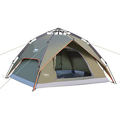 DesertFox® 3 person Automatic Tent Waterproof UV Resistant Double Layered