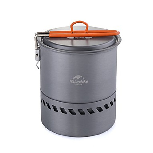 Naturehike Camping Cookware Pot Single Portable Stainless Steel
