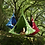 Thumbnail: UFO Shape Teepee Tree Hanging Silkworm Swing Chair For Kids & Adults Indoor Outd