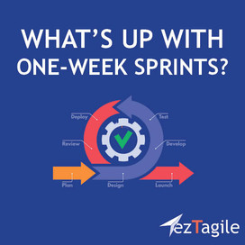 What's up with One-Week Sprints?