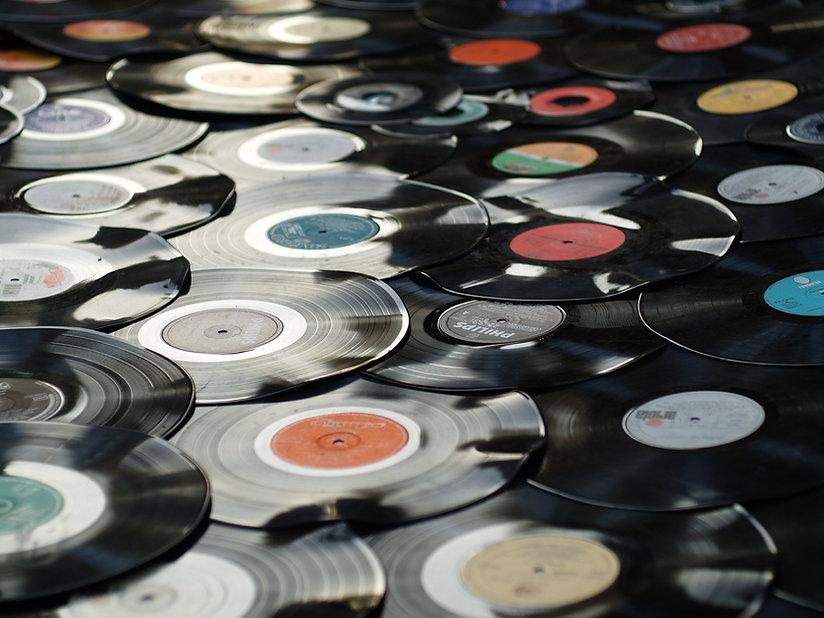 レコードの杭