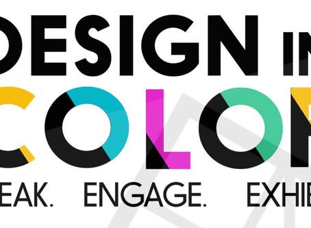Design in Color: SAY IT LOUD Exhibit