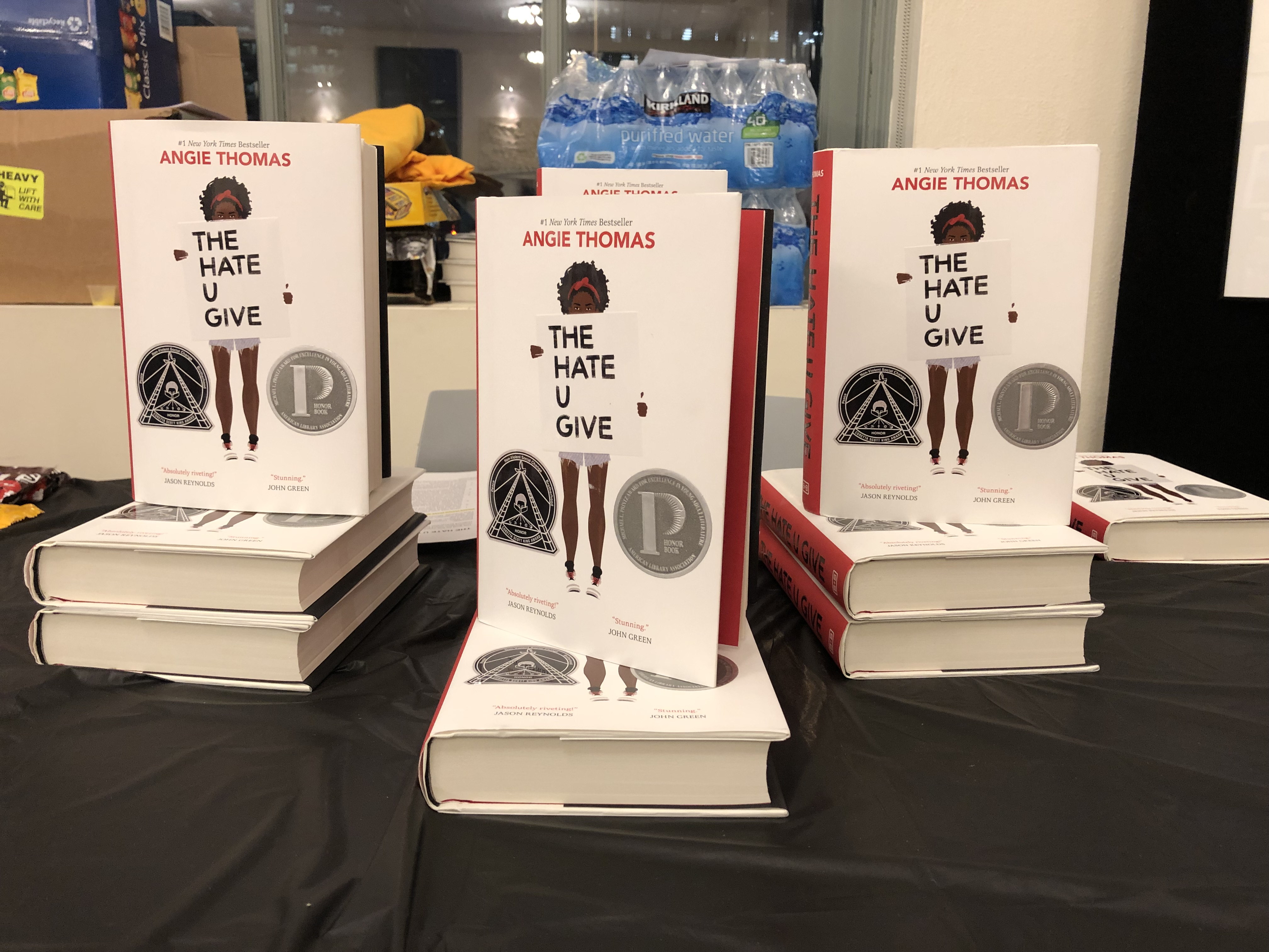 The Hate You Give books to giveaway