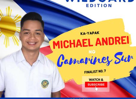 VOTE I Michael Andrei ng Camarines Sur I Wild Card Edition I YAPAK.ORG