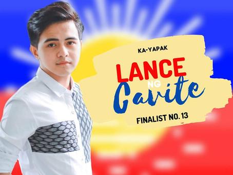 Lance Francisco ng Cavite