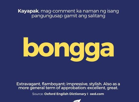 Filipino New Words I Oxford Dictionary