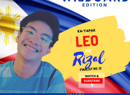 VOTE I Leo ng Rizal  I Wild Card Edition I YAPAK.ORG