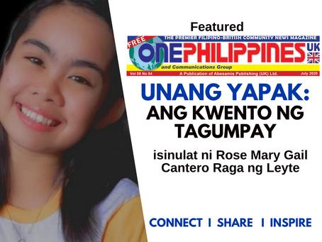 UNANG YAPAK: Ang Kwento ng Tagumpay - ONE PHILIPPINES UK