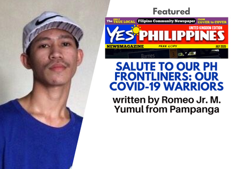 Salute to our PH Frontliners: Our COVID-19 Warriors