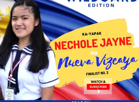 VOTE I Nechole Jayne ng Nueva Vizcaya I Wild Card Edition I YAPAK.ORG