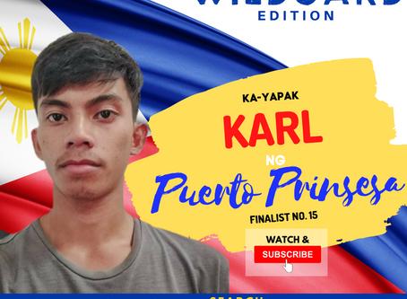 VOTE I Karl ng Puerto Prinsesa I Wild Card Edition I YAPAK.ORG
