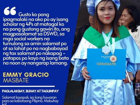 INSPIRE | YAPAK Ambassador | Emmy Gracio ng Masbate