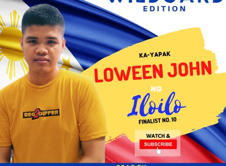 VOTE I Loween John ng Iloilo I Wild Card Edition I YAPAK.ORG