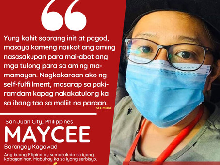PH FRONTLINERS - Maycee