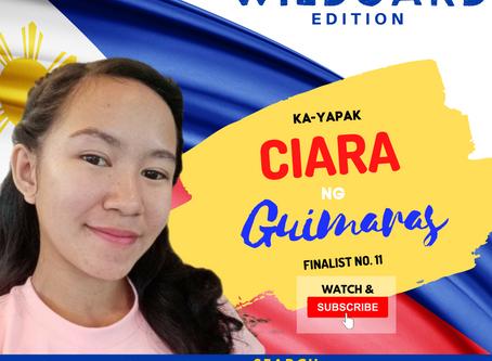 VOTE I Ciara ng Guimaras I Wild Card Edition I YAPAK.ORG