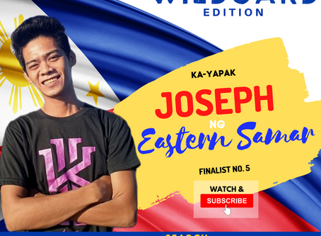VOTE I Joseph ng Eastern Samar I Wild Card Edition I YAPAK.ORG