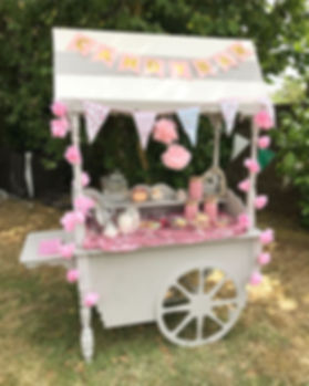🍭 Our gorgeous handmade treat cart set